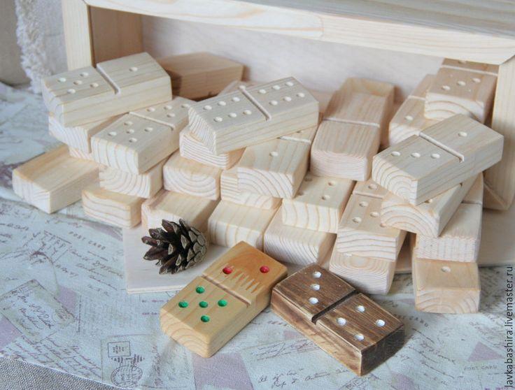 Купить ДОМИНО деревянное - домино, игра настольная, игра для детей, домино деревянное, домино большое