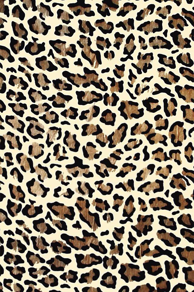 Cheetah print wallpaper on iPhone Cheetah print