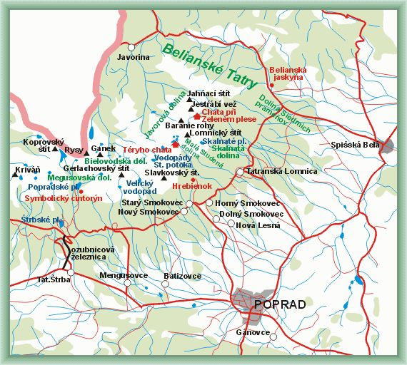 High Tatras - Guide of the area