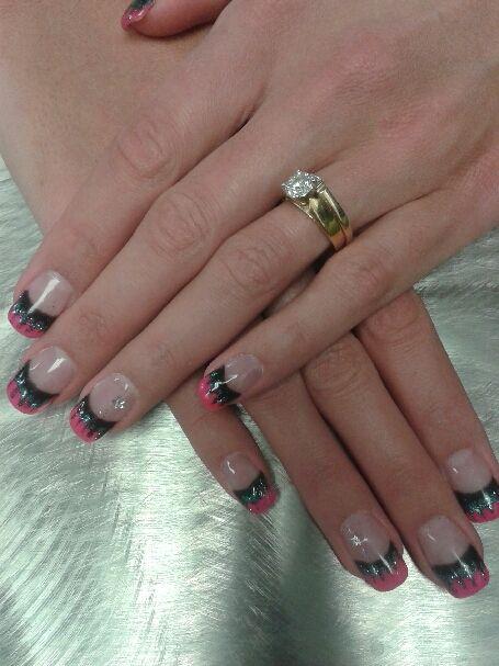 Gel nails regina nail art regina blue tangerine salon for 306 salon regina