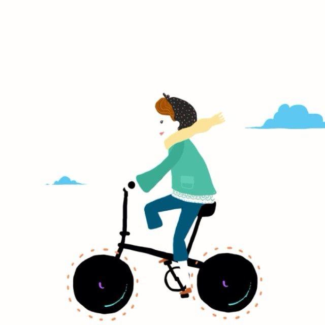 #animation #gif #instamotion #dahon #dahonturkiye #foldingbike #bike #happiness #dahonbikes @dahonbikes