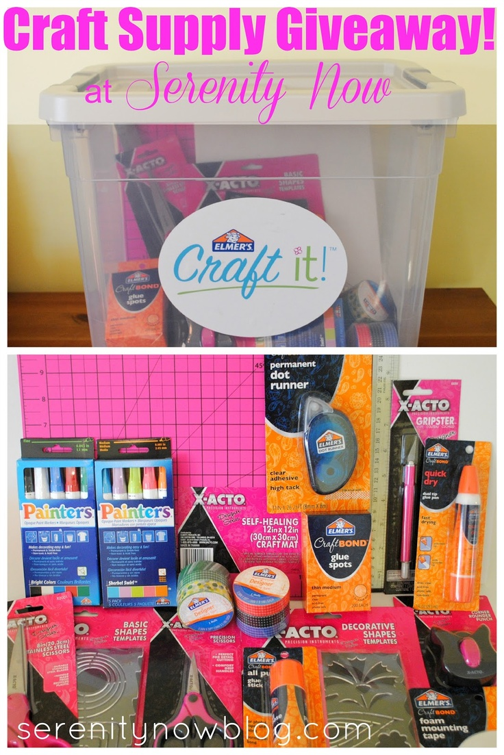 Elmer S Craft Supply Giveaway Kit