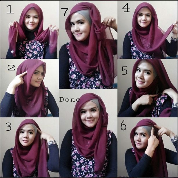 Stunning & Stylish Hijab Tutorial