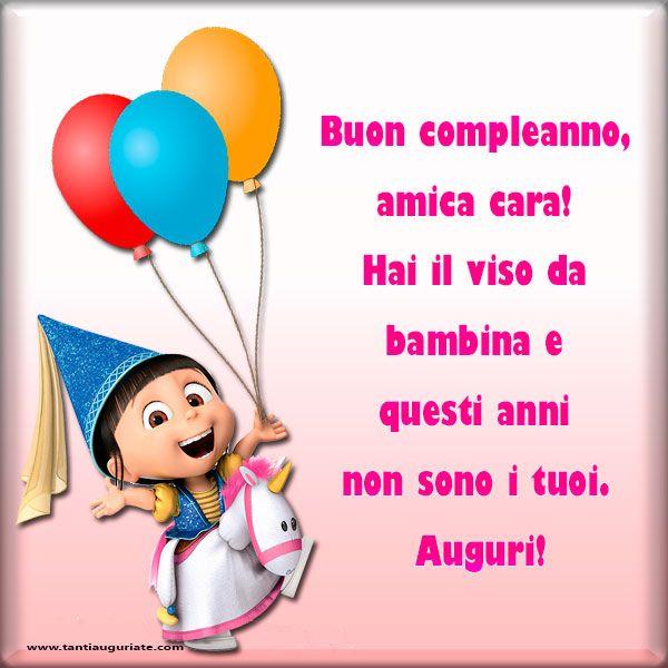 Buon compleanno, amica cara!  #compleanno #buon_compleanno #tanti_auguri