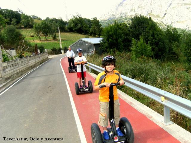 Ruta en Segway por la Senda del Oso, Asturias.
