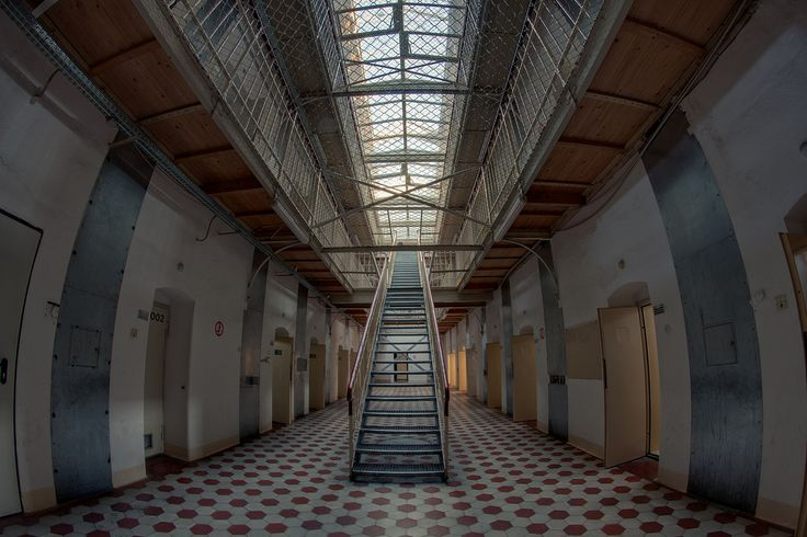 abandoned prison in germany