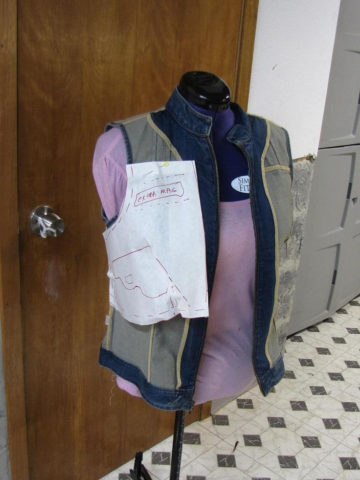 I've made my own, but here are some great instructions for making a concealed carry vest.  Much more comfortable than holsters.  It's cute too!  Buy a ready to wear vest, doesn't have to be new, and transform it.  SurvivalBlog.com – The Daily Web Log for Prepared Individuals Living in Uncertain Times.