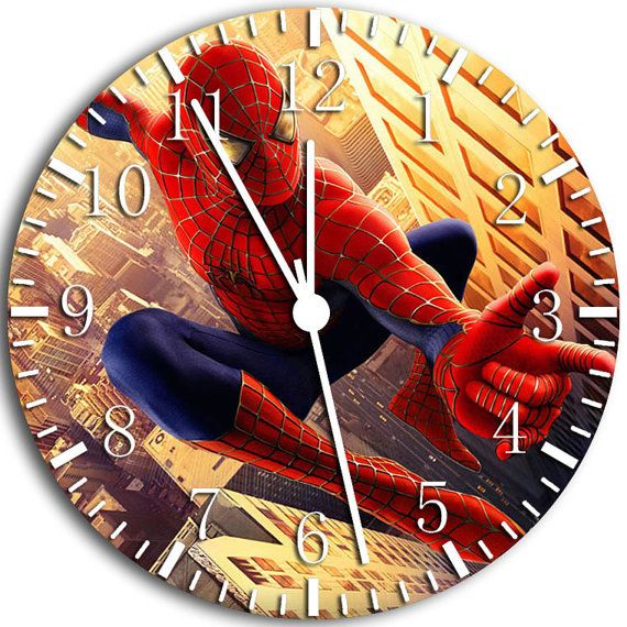 23 Best Spider Man Wall Clocks Images On Pinterest Wall