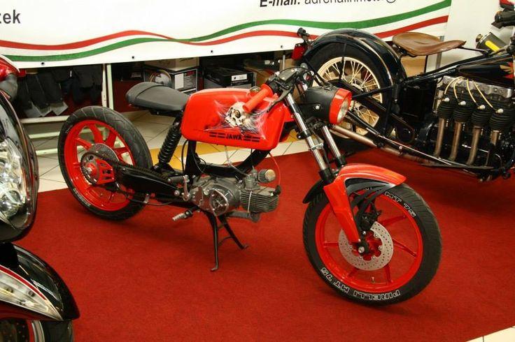 Jawa Mustang 1978 Cafe Racer