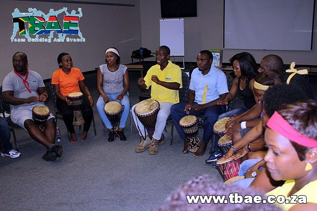 Department of Home Affairs Corporate Fun Day and Drumming Team Building Magaliesburg  #TeamBuilding #TBAE #Drumming