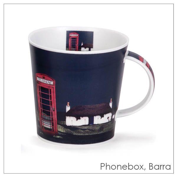 Ron Lawson, Phonebox Mug | Scottish Contemporary Art