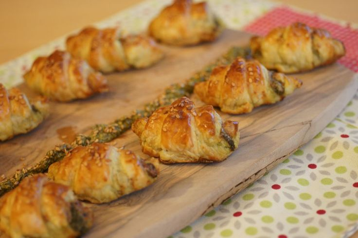 Croissants pesto 3