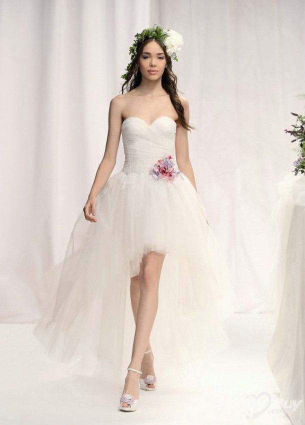 124 best Wedding dresses images on Pinterest | Homecoming dresses ...