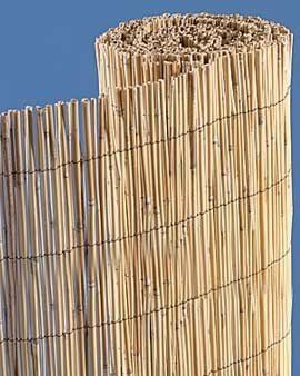 Bamboo Reed Fence 5' x 20' by Wayside Fence Reed. $45.99. Create a tropical or tiki decor. Use for indoors or out. Create a tropical decor.