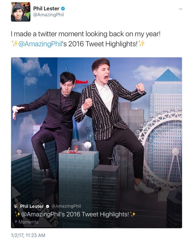Here's a selection of some of my favourite AmazingPhil tweets from 2016! Happy new year guys