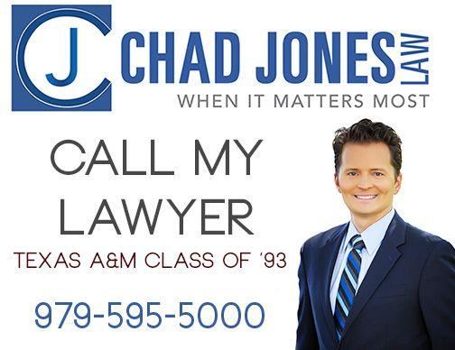 Chad Jones Law - When it matters most - Board Certified - Personal Injury Trial Law