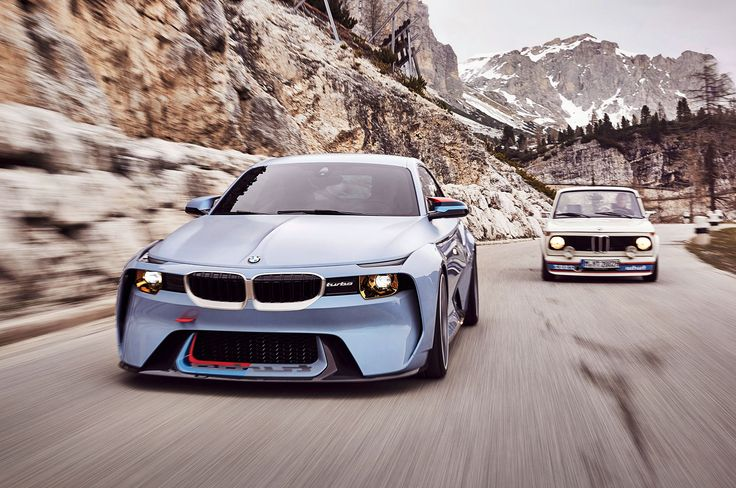 Image for BMW 2002 Hommage Concept Desktop Wallpaper