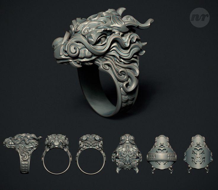 ArtStation - Dragon Ring, Nacho Riesco Gostanza