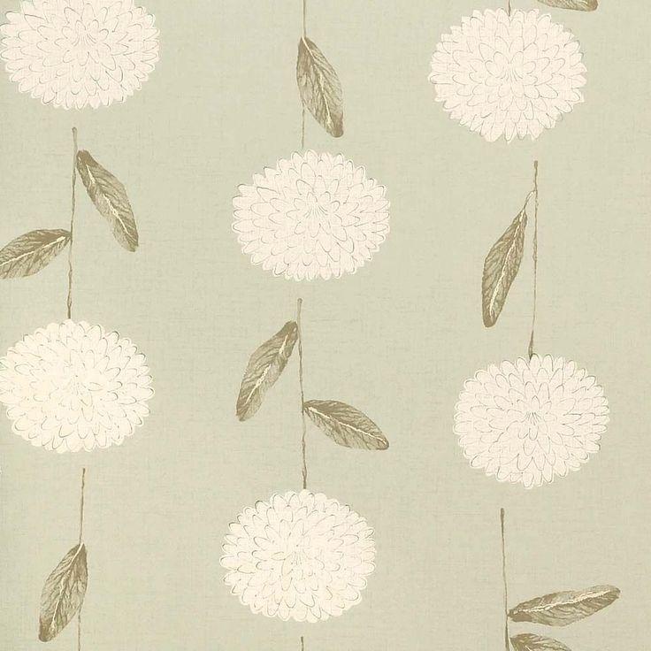 Harlequin Wallpaper Roll -Patterned Floral Flat - Arboreta Green 30287 #Harlequin #Wallpaper