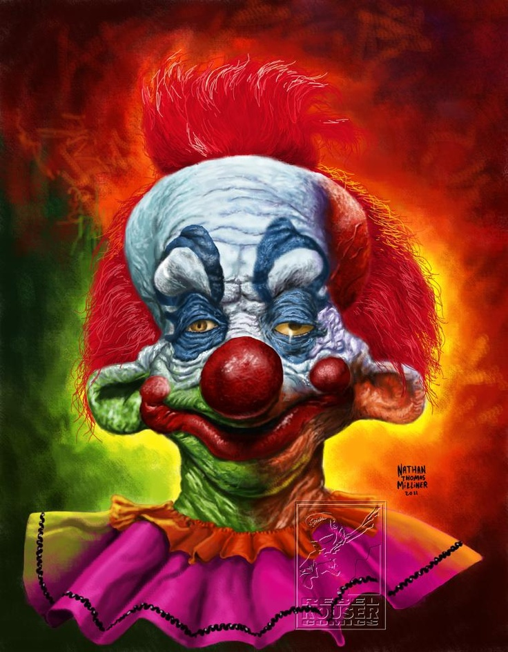 Killer clown nathan thomas milliner the greatest show for Killer clown movie