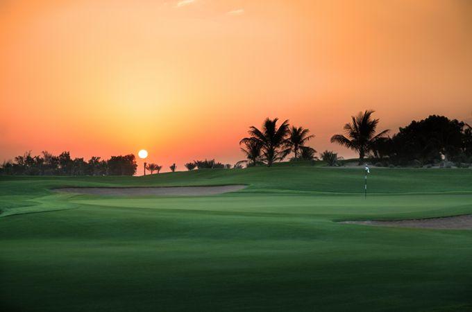 Golf, Abu Dhabi