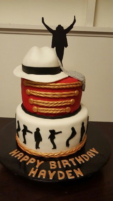 Michael Jackson cake.