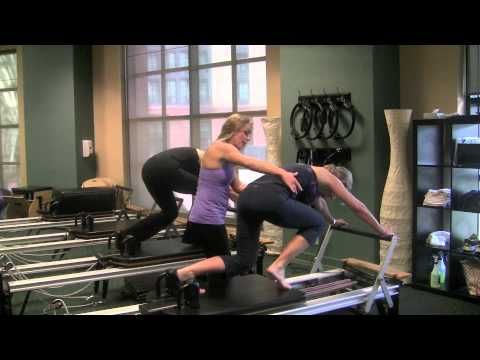 Steph! Check out these moves....a lot of different moves that really look challenging, yet doable! Can't wait to try some of these, if not all. Niiiice!    Lucy Garcia's Pilates Reformer Routine