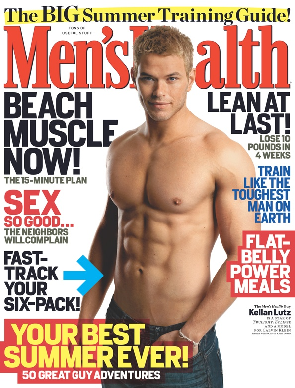 July/August 2010 Cover guy: Kellan Lutz