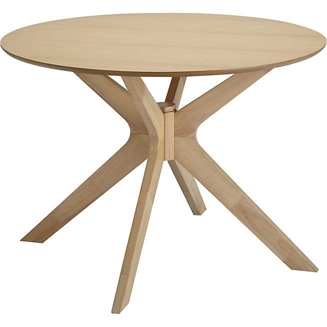 Table ronde fixe D105cm - Léandre - Consoles tables chaises - Tables