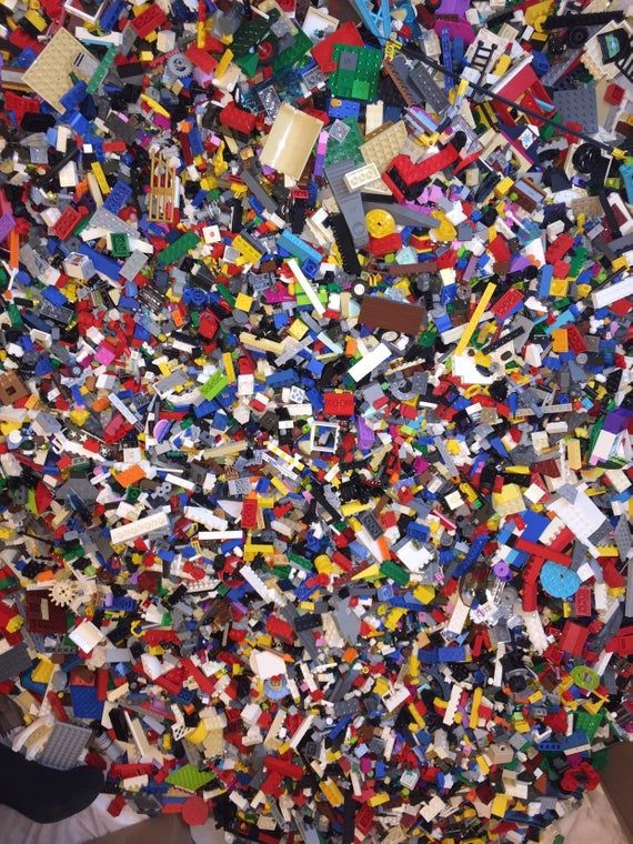 Lego 1 Pound LBS Parts /& Pieces bricks blocks Plates city town Star Wars Space