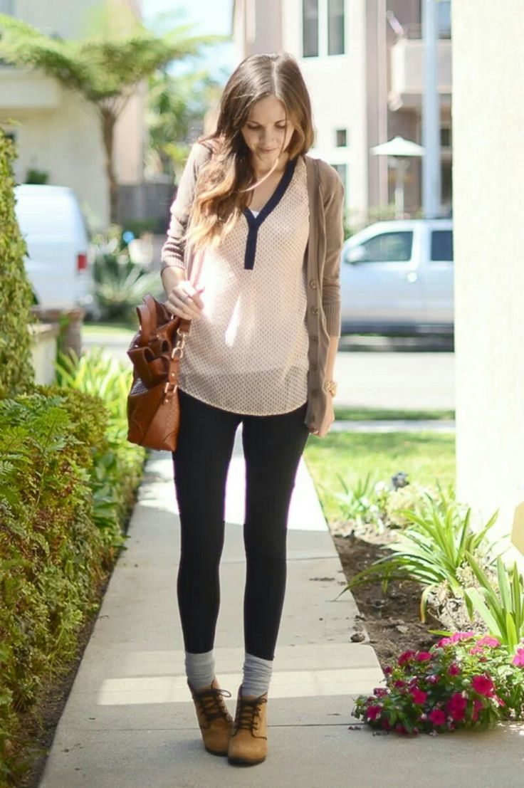 How To Wear Ankle Boots: Leggings and Layered Socks ...