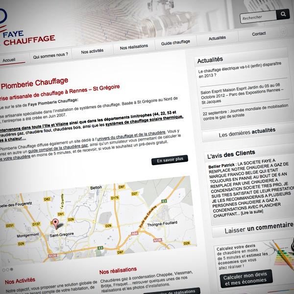 #Faye #Plomberie #Chauffage #WebDesign #Developpement #graphpix