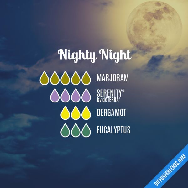 Nighty Night - Essential Oil Diffuser Blend