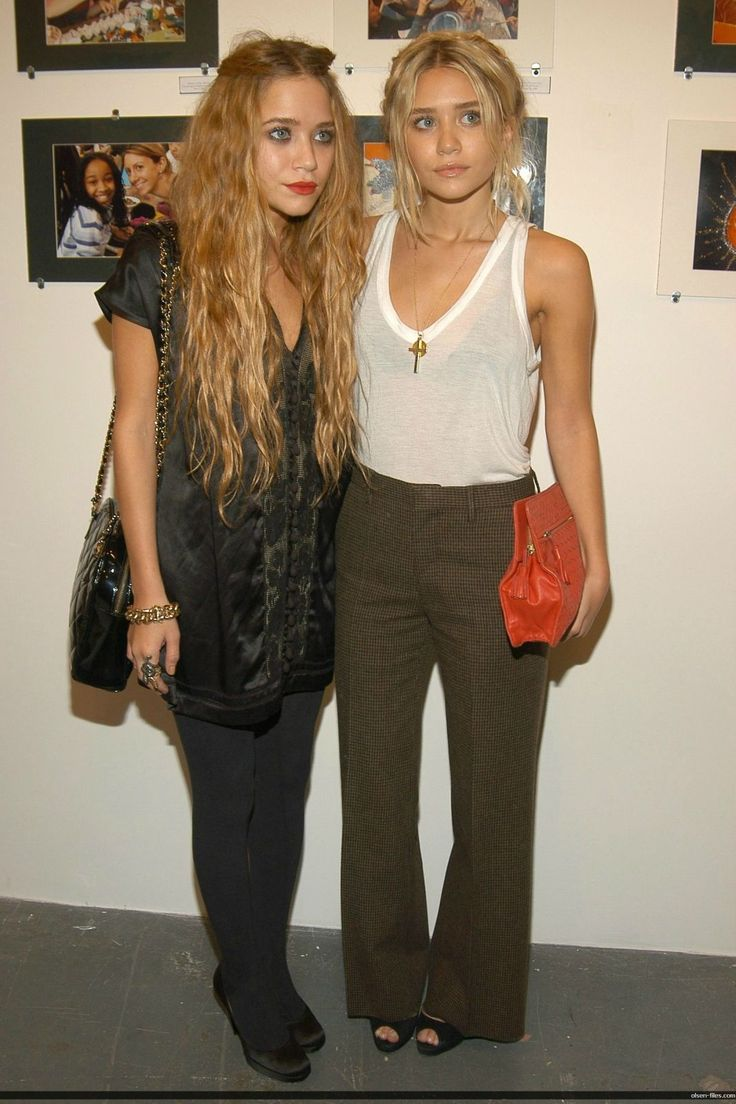 olson twins young Olson twins - talent-less, homely girls. But their fashion sense cannot be