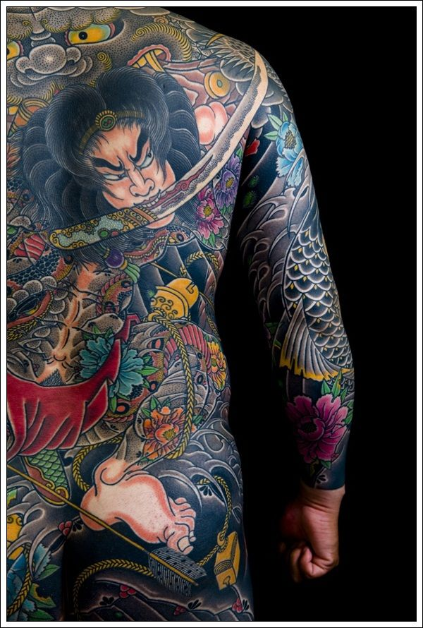Man Yakuza Cigar Tattoo: 33 Beautiful Japanese Yakuza Tattoo Designs And Images