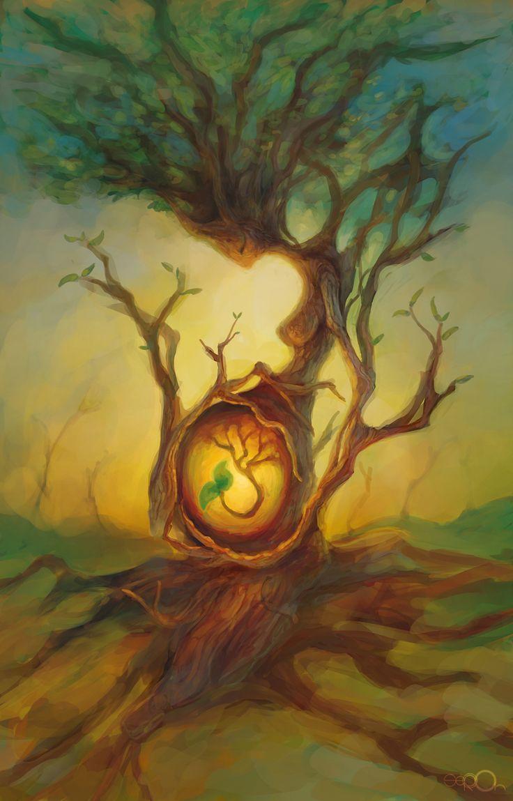 Mother Tree by zgul-osr1113.deviantart.com: