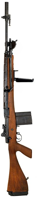 M14E2 Fully Automatic Rifle.