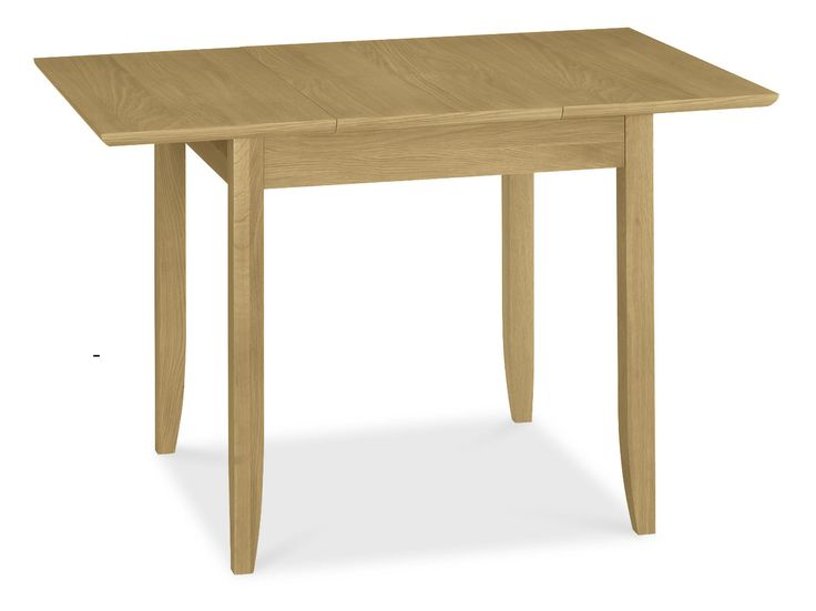 Shaker Oak 2-4 Butterfly Extension Dining Table - 80-120cm- http://solidwoodfurniture.co/product-details-oak-furnitures-5226-shaker-oak-butterfly-extension-dining-table-cm.html