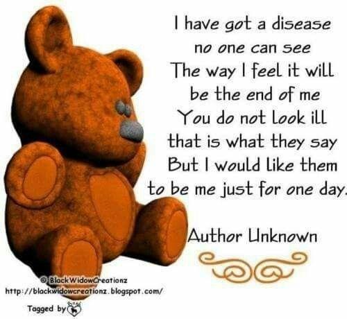 Chronic Pain~Invisible Illness