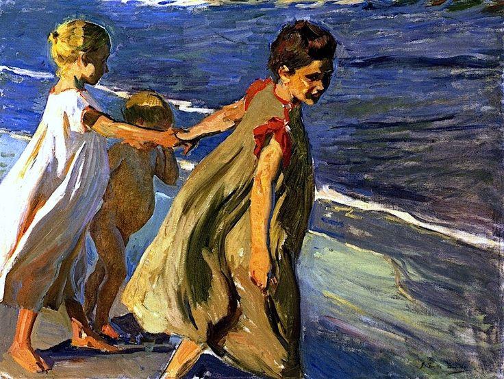 Summer (study) Joaquin Sorolla y Bastida, 1904