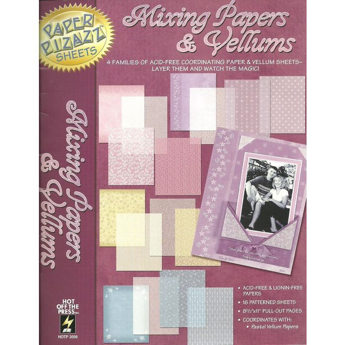 Paper Pizazz Sheets Mixing Papers & Vellums Craft Book with Extra Sheets Listing in the Cardmaking & Scrapbooking Vellums,Scrapbooking & Paper Crafts,Crafts, Handmade & Sewing Category on eBid Canada | 156316324 CAN$ 5.00 + Shipping