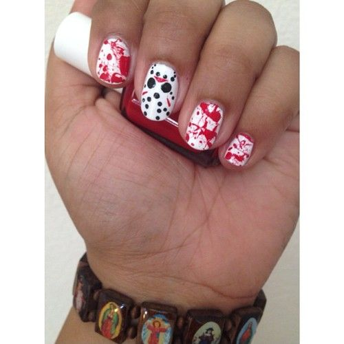 170 best halloween nails images on pinterest halloween nail art the best halloween nail art photo audrey kitchings photos prinsesfo Choice Image