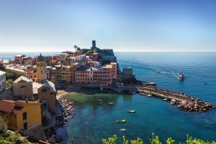 Vernazza - The magical little town in the Cinque Terre Park, Italy