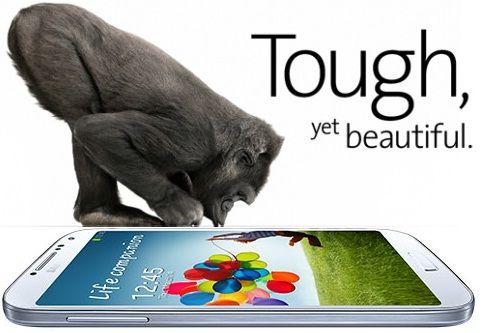 Hp Samsung Galaxy Yang Memakai Corning Gorilla Glass
