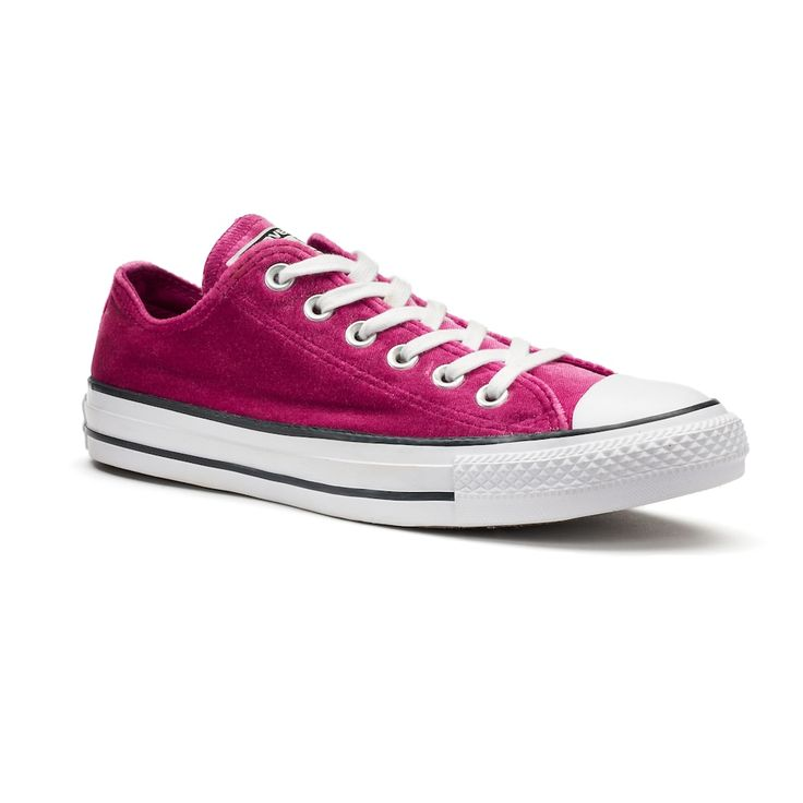 Women's Converse Chuck Taylor All Star Velvet Sneakers, Size: 10, Med Pink