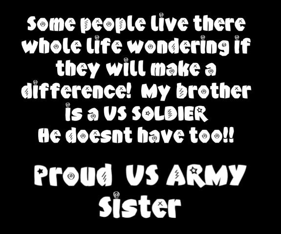 Army Sister Quotes | Army Sister Graphics Code | Army Sister Comments & Pictures