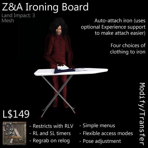Z&A Ironing Board