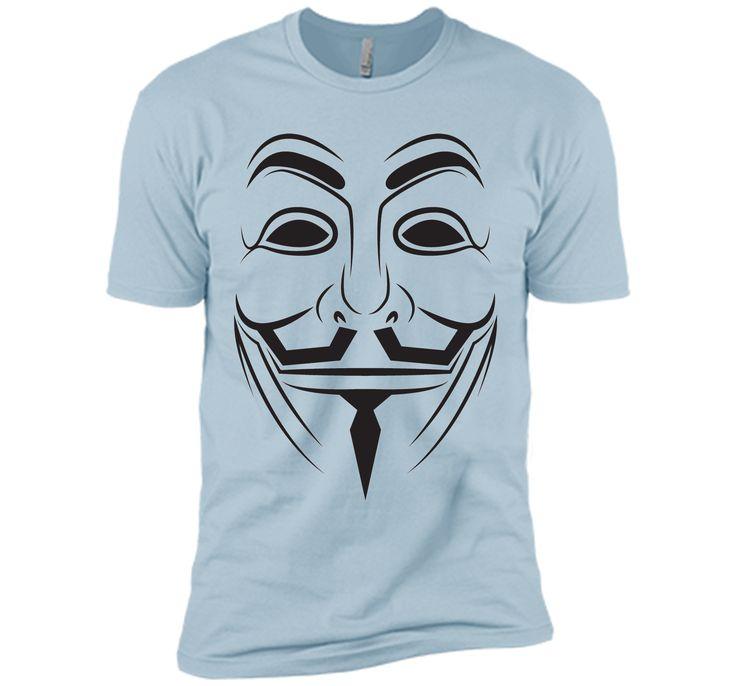 v vendetta mask T-Shirt