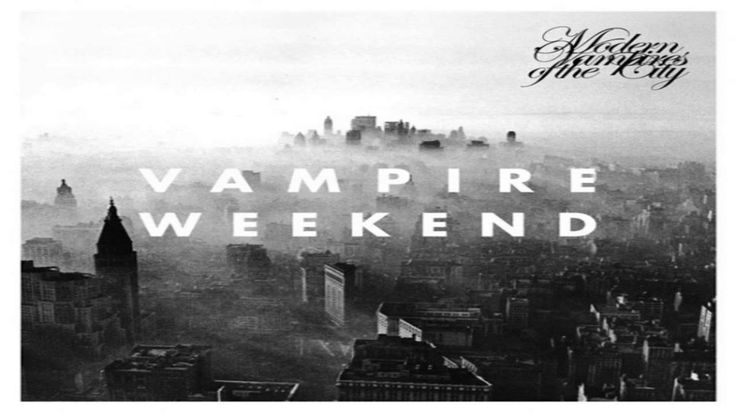 Vampire Weekend - Hannah Hunt   One of their lesser known songs that I love. So beautiful