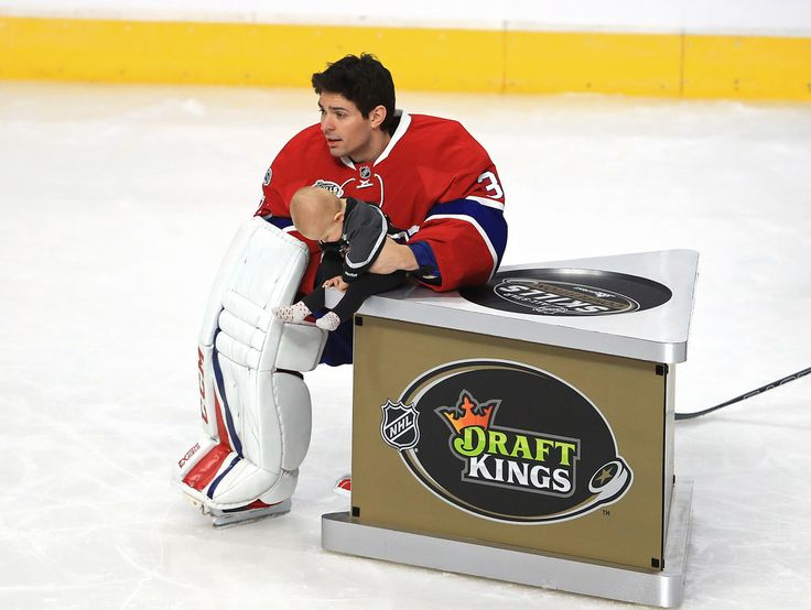 Liv Anniston Photos Photos - Carey Price #31 of the Montreal Canadiens holds his daughter Liv Anniston in the DraftKings NHL Accuracy Shooting event during the 2017 Coors Light NHL All-Star Skills Competition as part of the 2017 NHL All-Star Weekend at STAPLES Center on January 28, 2017 in Los Angeles, California. - 2017 Coors Light NHL All-Star Skills Competition